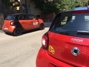 Una semana en Mallorca en Smart Forfour