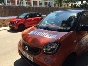 En Mallorca en Smart forfour smarteros