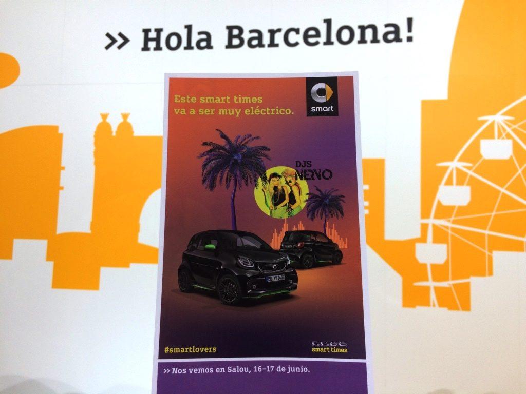 Smart en el Automobile Barcelona 2017 - Smarttimes 2017