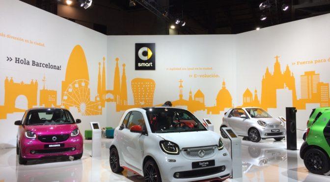 Smart en el Automobile Barcelona 2017