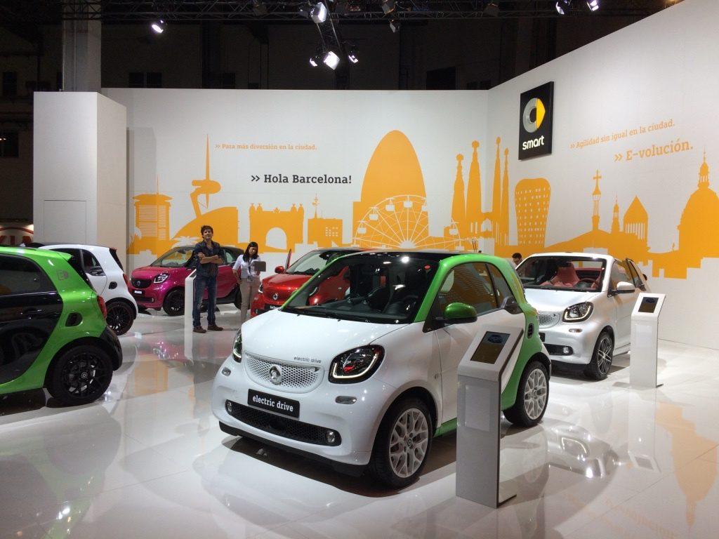 Smart en el Automobile Barcelona 2017 - Stand Smart